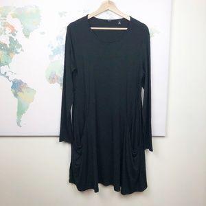 Betabrand Sweatshirt Travel Dress Size Medium